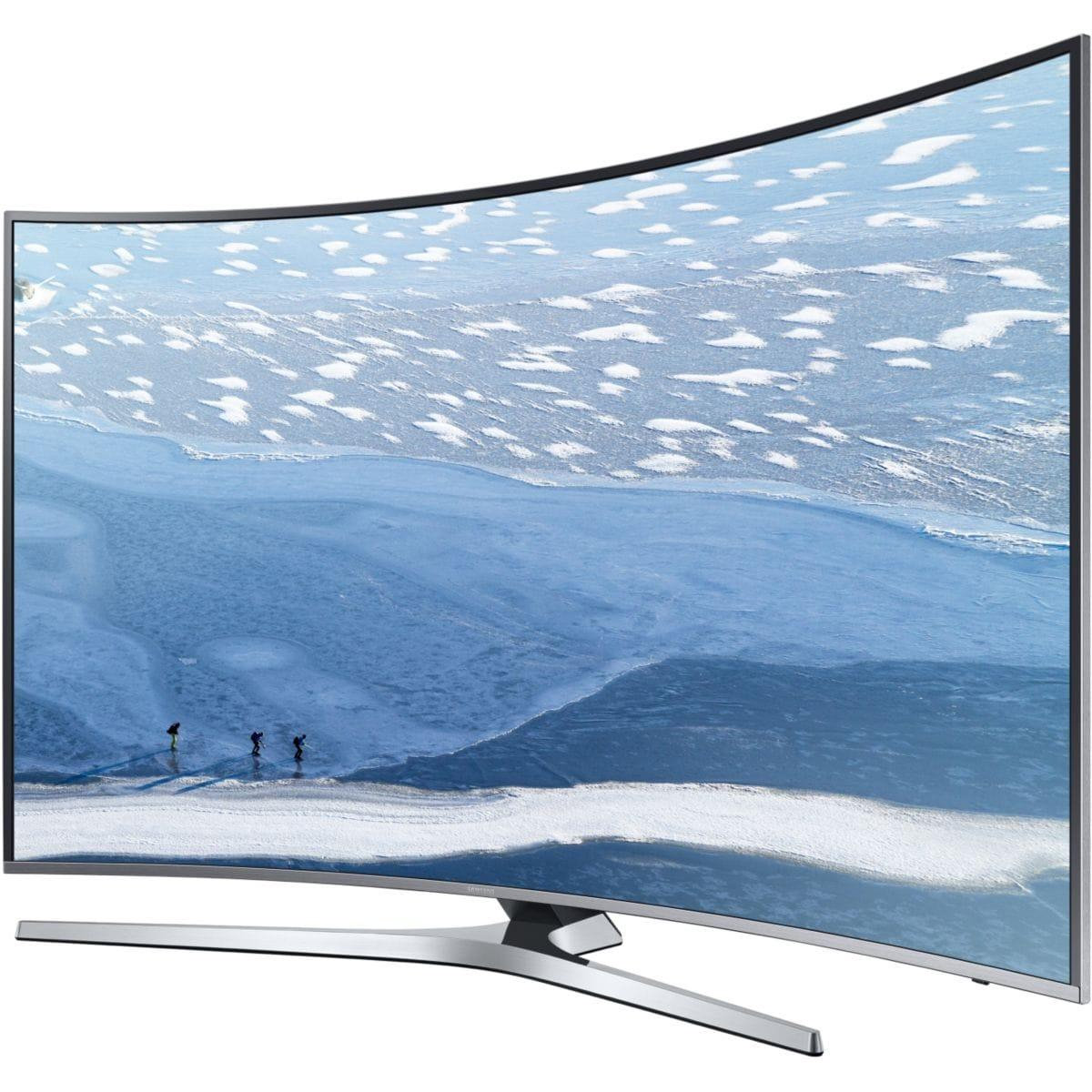 Smart TV LED 4K Ultra HD 123 cm Samsung UE49KU6670 - incurvée