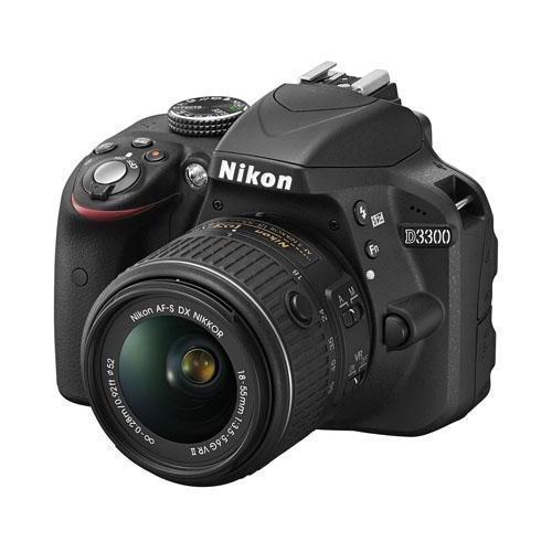 Reflex - Nikon D3300  + Objectif AF-S 18-55mm VR II - Noir