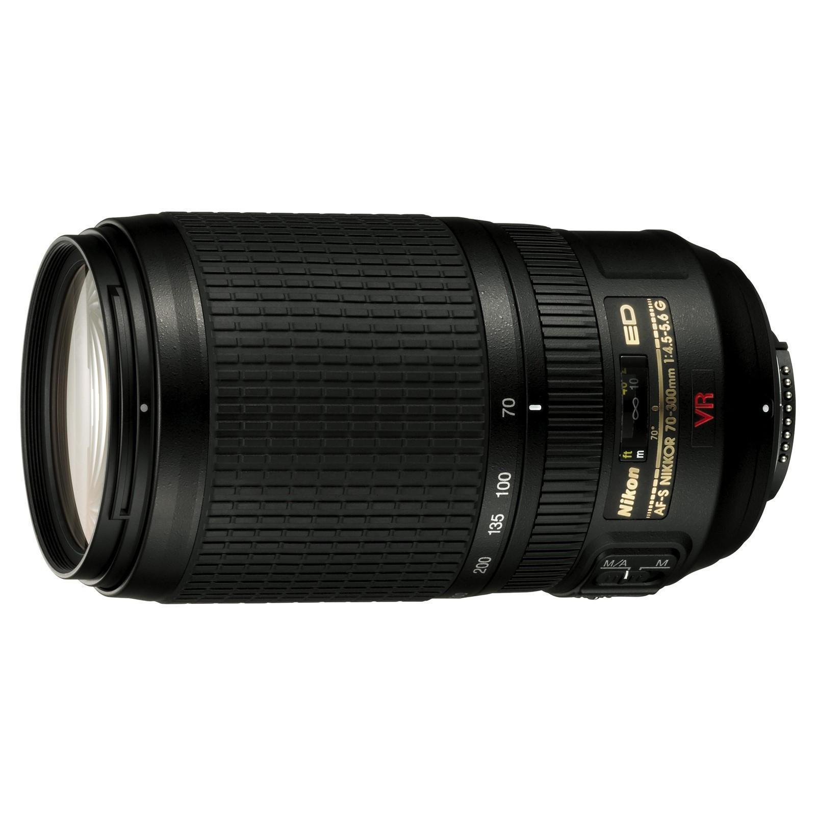 Objectif Nikon Nikkor AF-S VR ZOOM 70-300mm