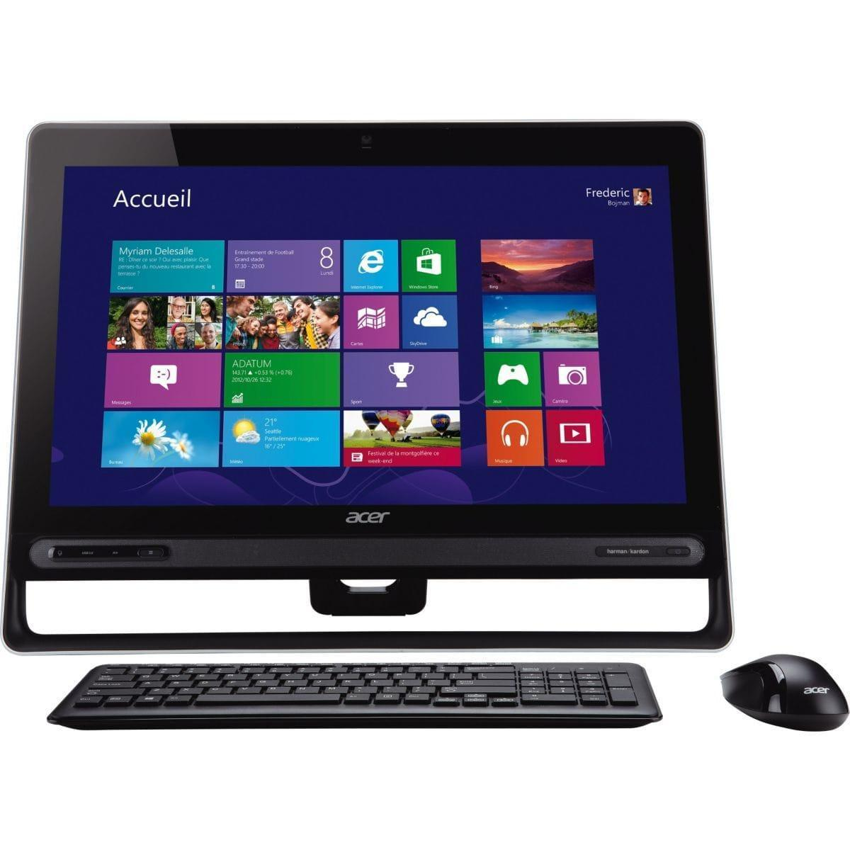 Acer Aspire Z3 - Pentium 2127U 1,9 GHz - HDD 1024 Go - RAM 4 Go