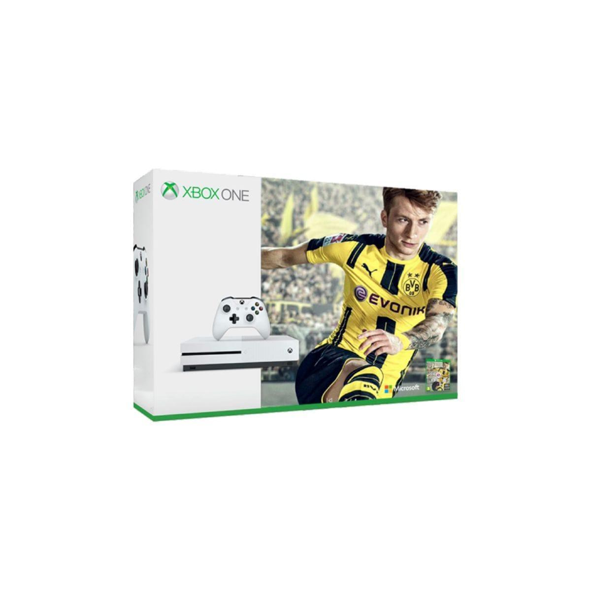 Pack - MICROSOFT Xbox One S 1To + Fifa 17