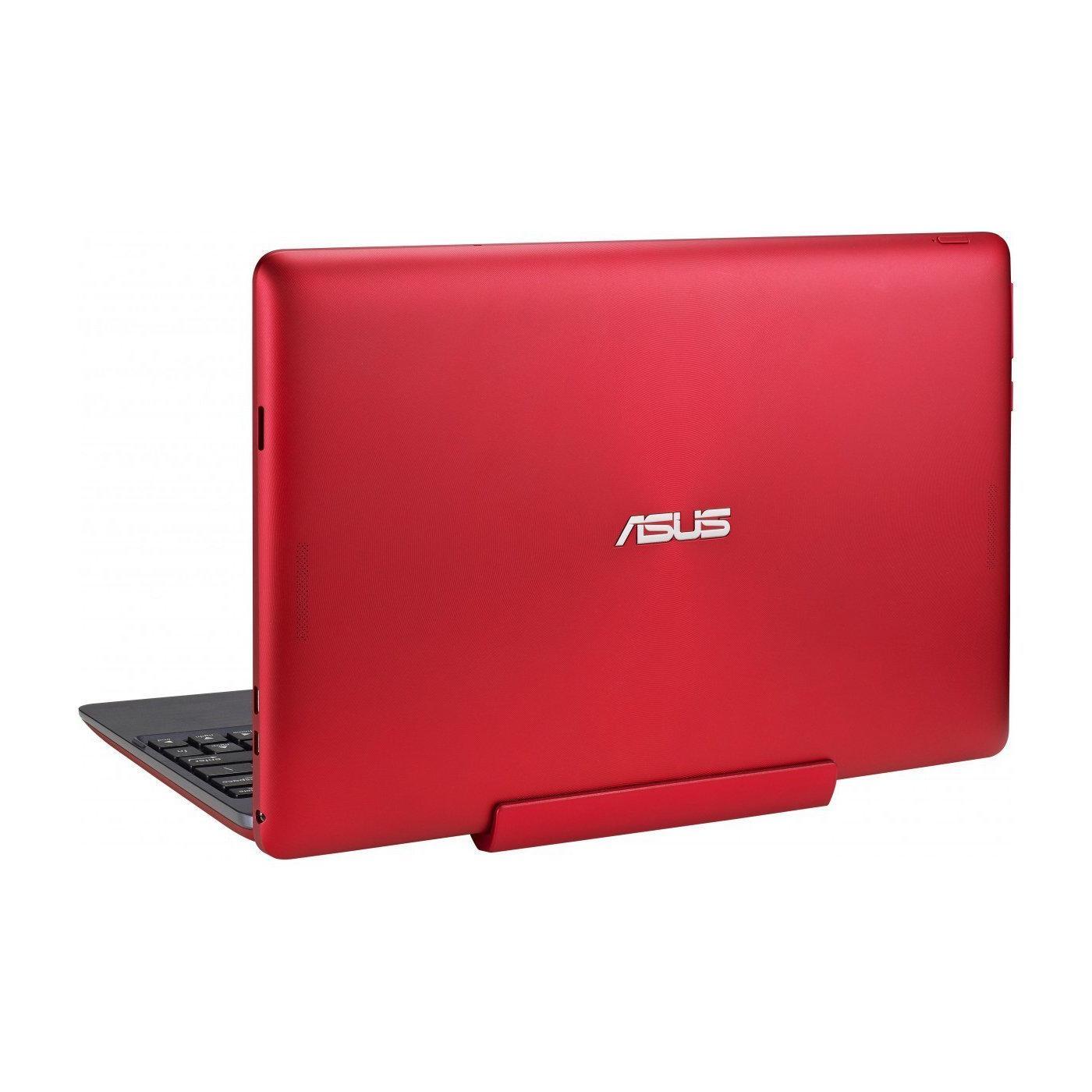 "ASUS Transformer Book T100TAF Rojo 10.1"" Intel Atom - RAM 2GB - eMMC 32GB + HDD 500GB - QWERTY"
