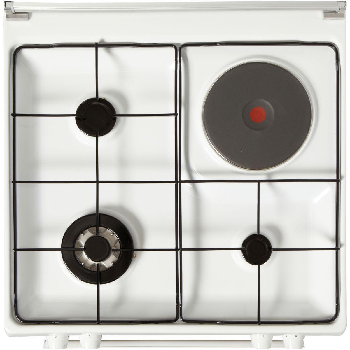 Cuisinière mixte ELECTROLUX EKM6770AOW