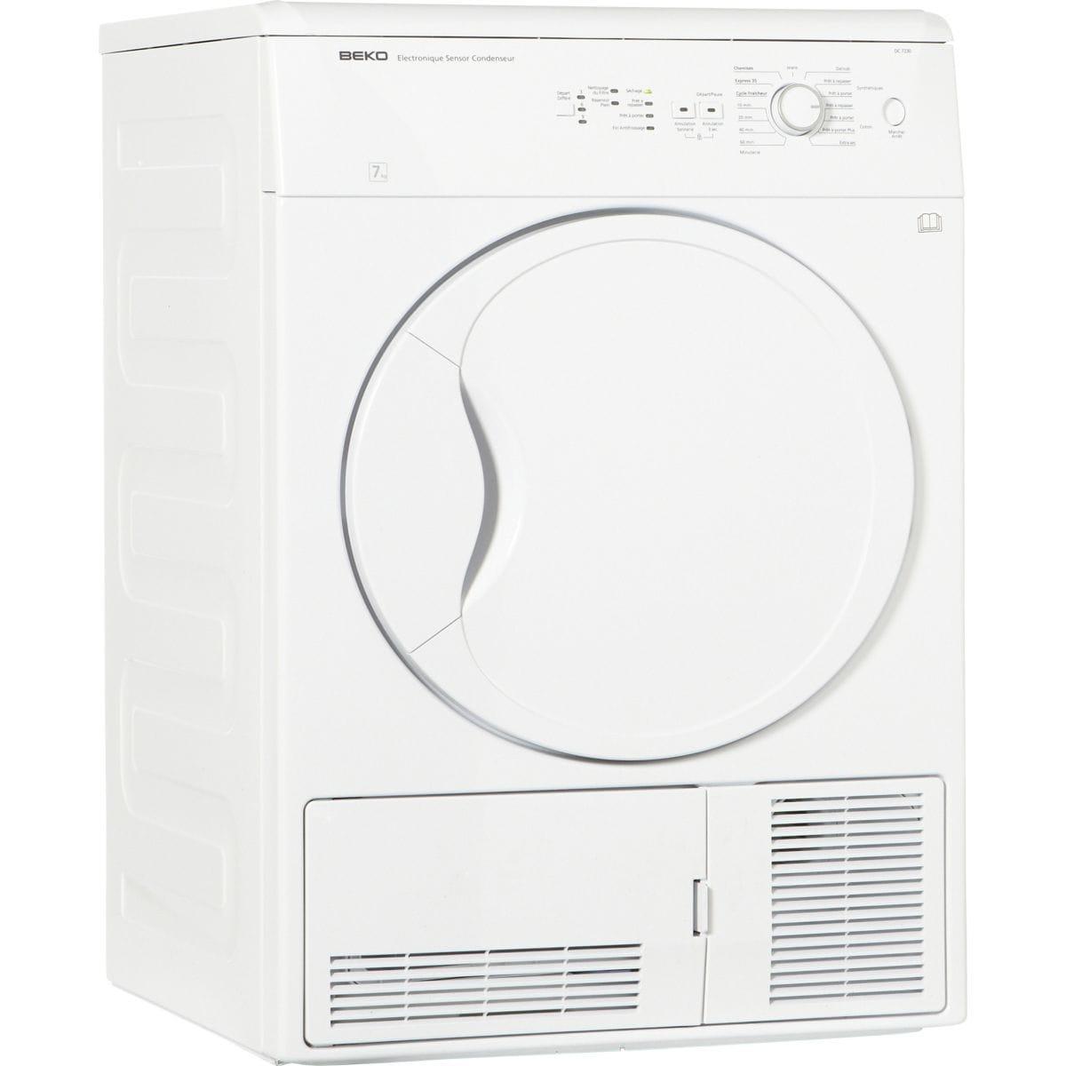 Sèche-linge à condensation BEKO DC 7230