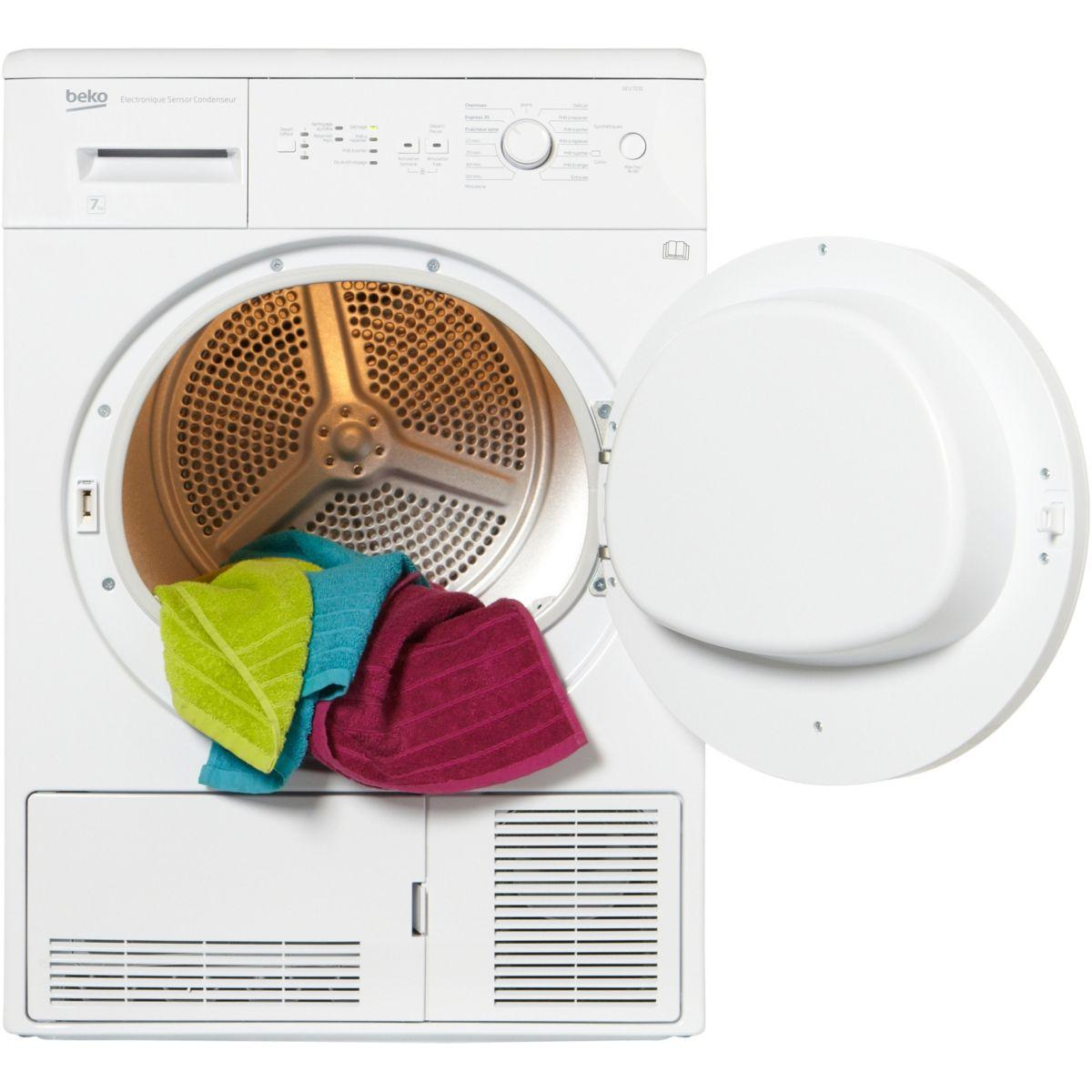 Sèche-linge à condensation BEKO EX DCU 7231 SPE