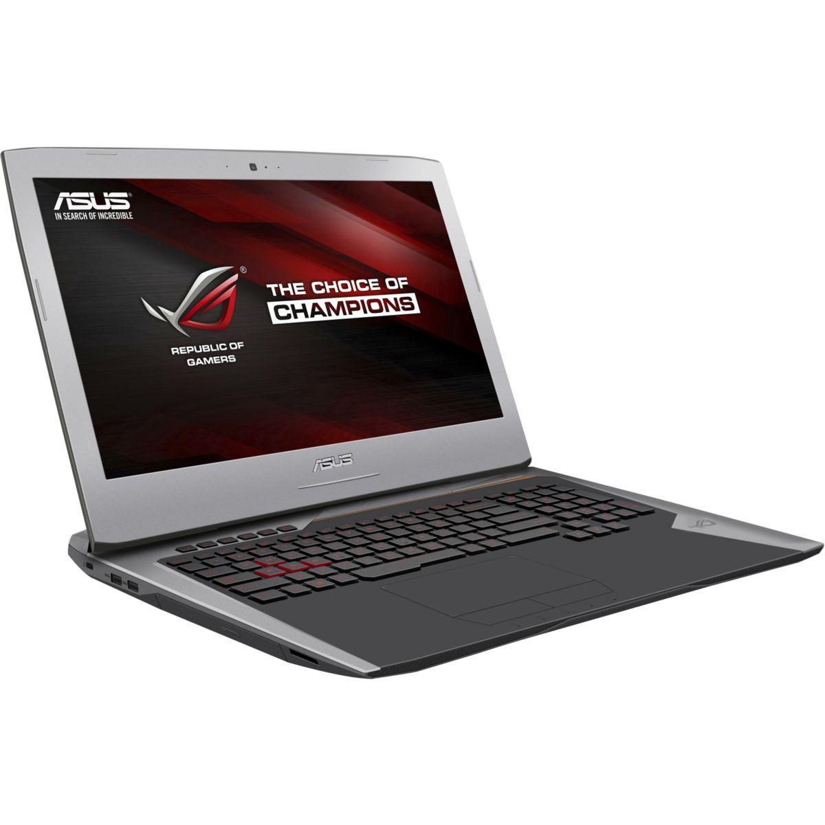 Asus ROG - Core i7-6700HQ 2,6 GHz - HDD + SSD 1280 Go - RAM 16 Go - AZERTY