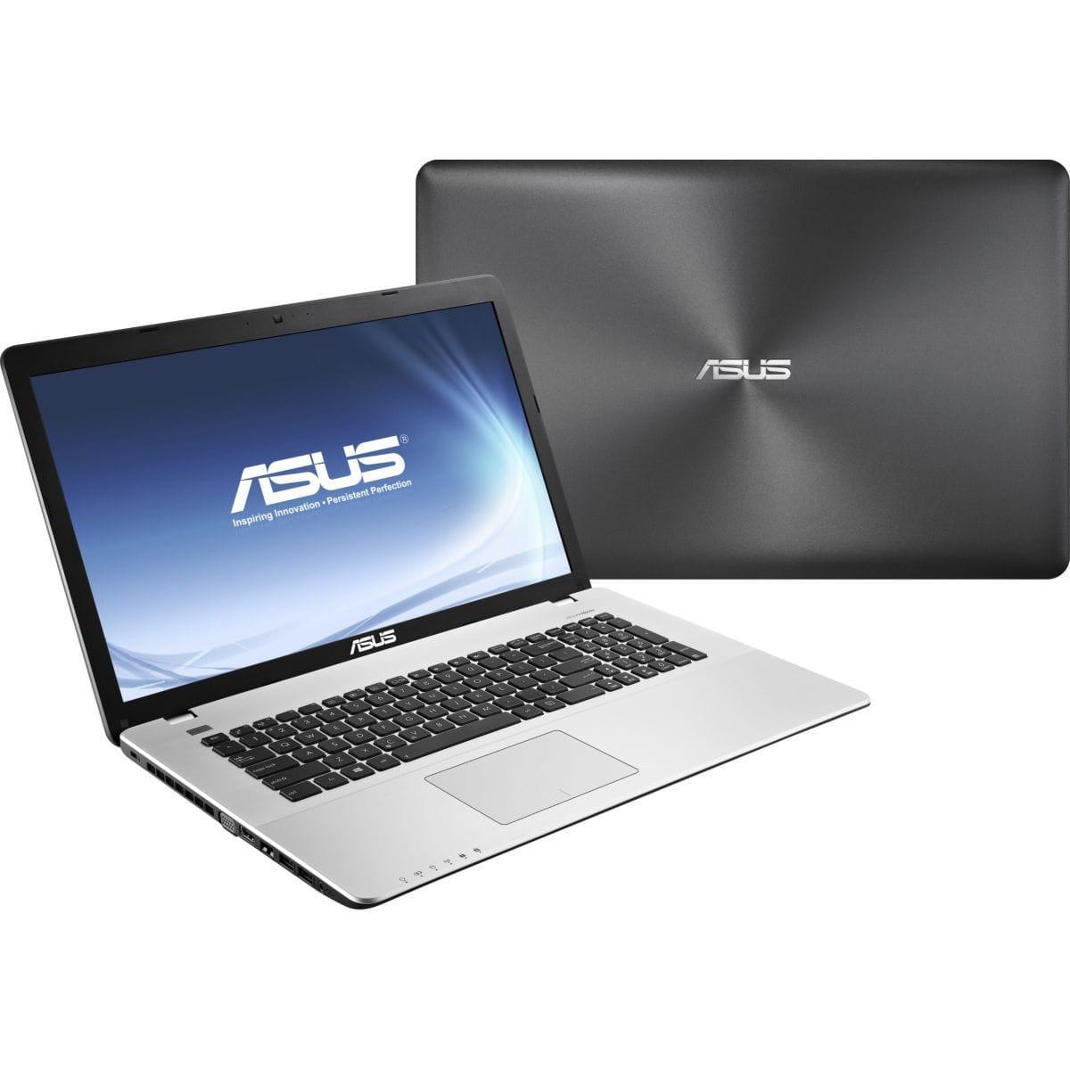 Asus Asus R751JB-TY016H - Core i7-4700HQ 2,4 GHz - HDD 750 Go - RAM 8 Go - AZERTY
