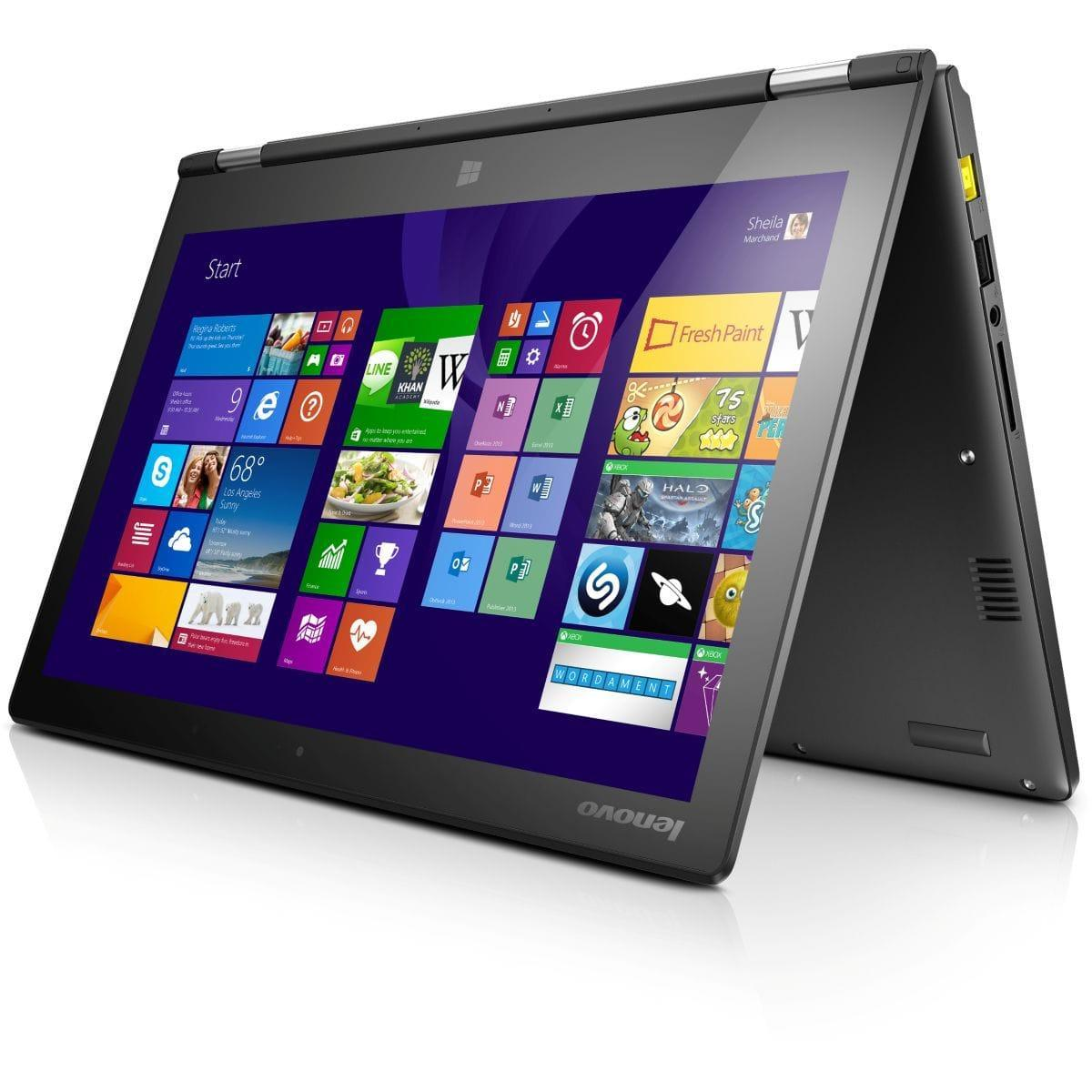 Lenovo Yoga 2 - Core i3-4030U 1,9 GHz -  128 Go - RAM 4 Go