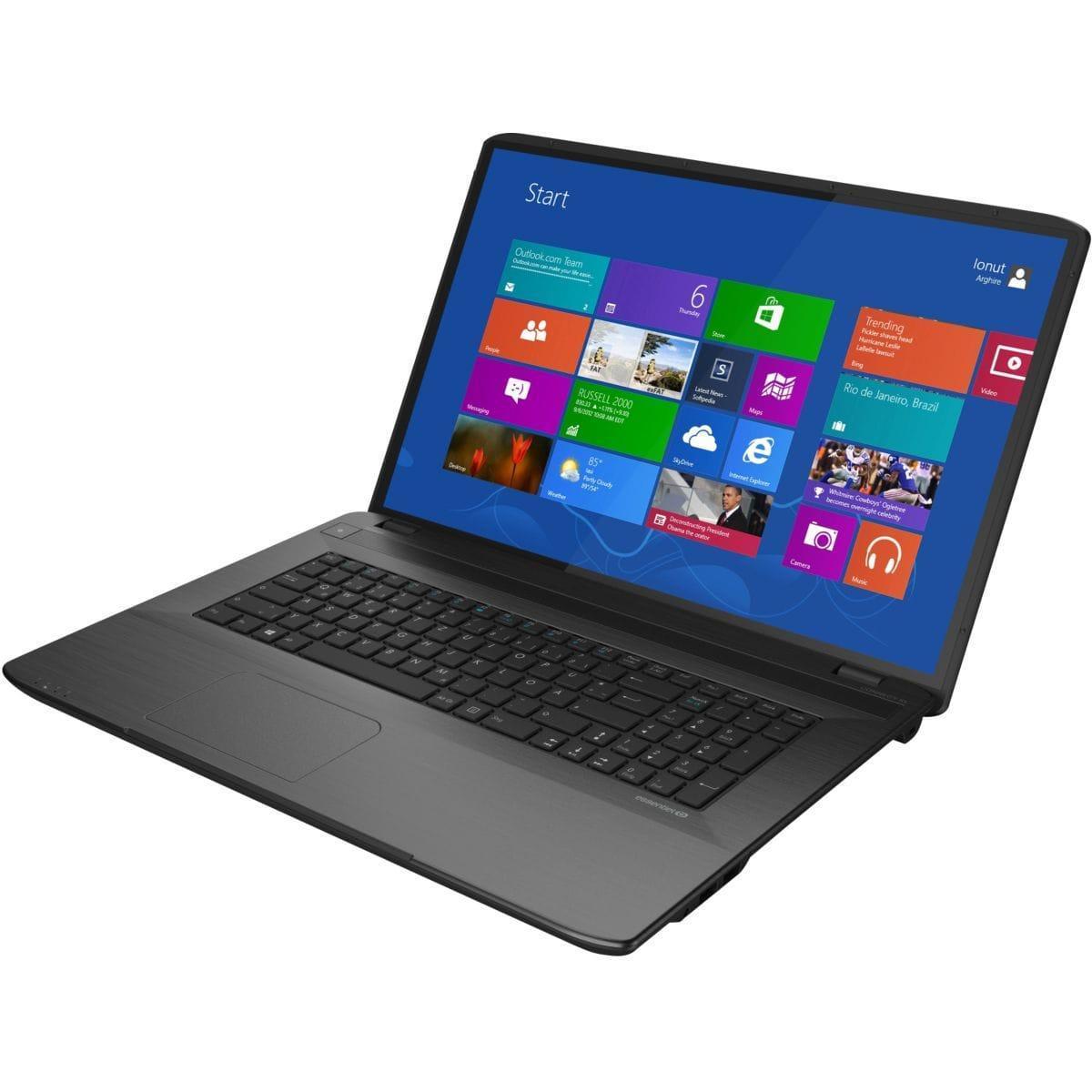Essentiel B Smart'Mouv - Celeron N2930 1,8 GHz - HDD + SSD 1032 Go - RAM 4 Go - AZERTY