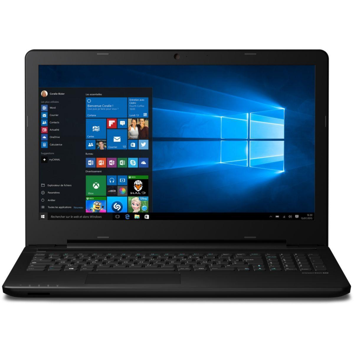 Essentiel B Dark'Mouv - Core i5-6200U 2,3 GHz - HDD + SSD 1032 Go - RAM 4 Go - AZERTY