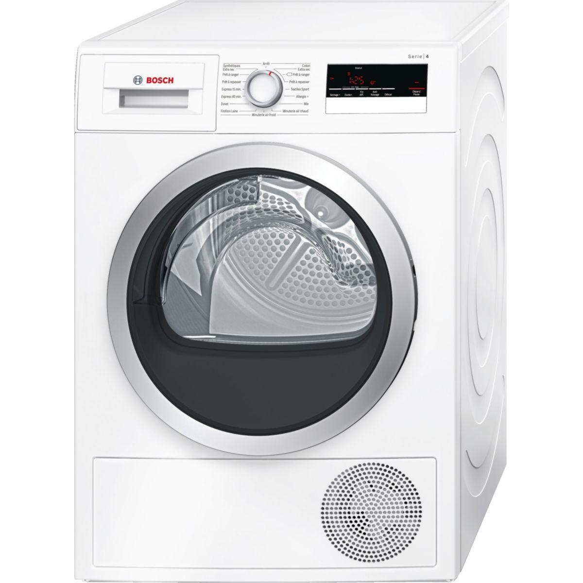 Sèche-linge à condensation BOSCH WTN 85200FF