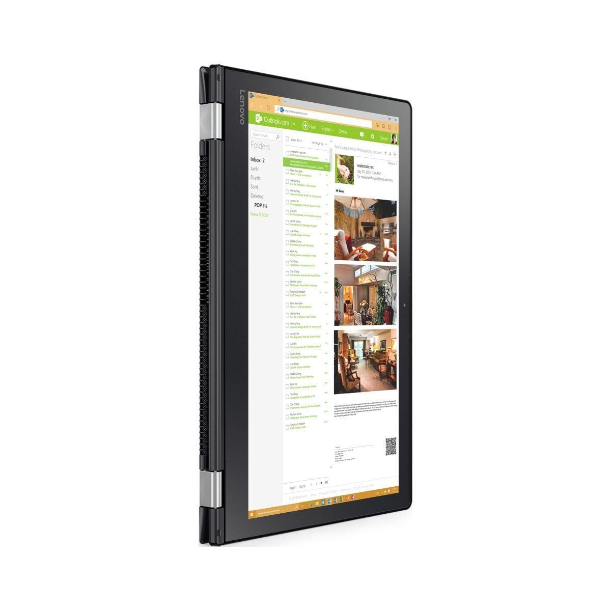 Lenovo Yoga - Core i5-6200U 2,4 GHz -  1024 Go - RAM 4 Go - AZERTY