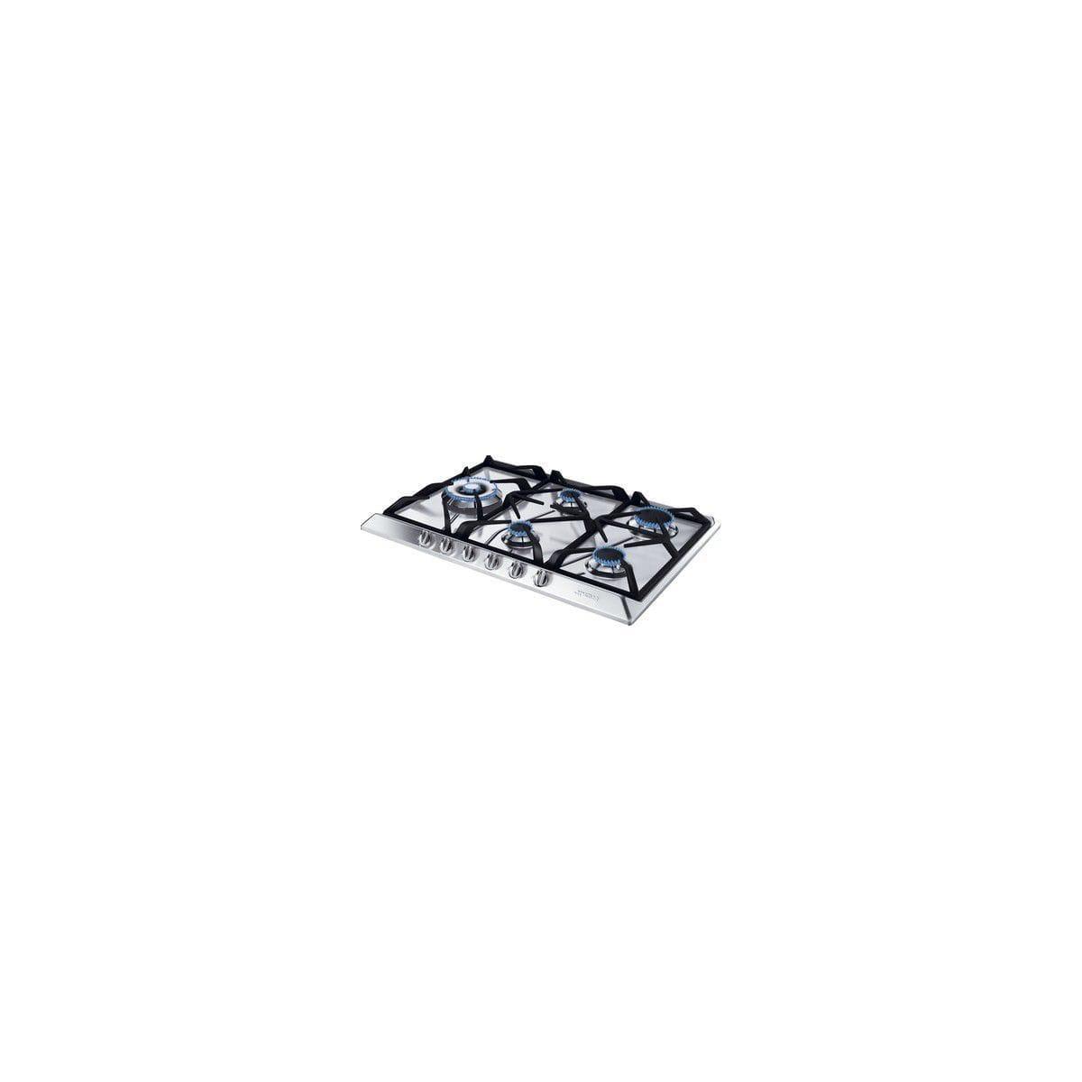 Table de cuisson - Gaz 5 foyers - SMEG SRV575GH5