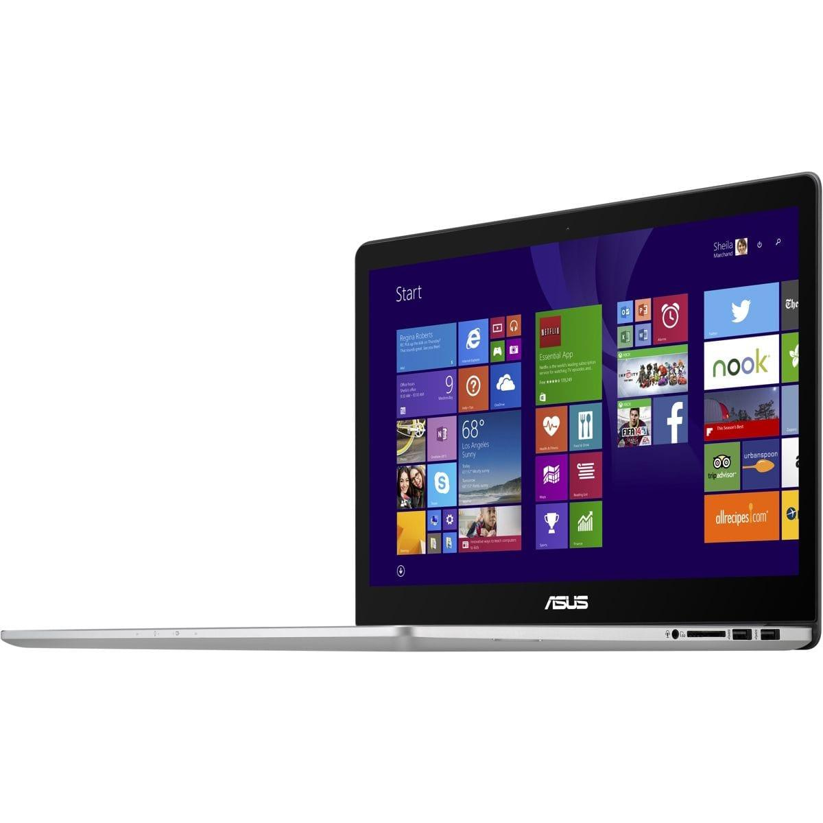 "Asus ZenBook 15,6"" Core i7-4720HQ 2,6 GHz  - SSD 128 Go + HDD 1.024 To - RAM 8 Go"