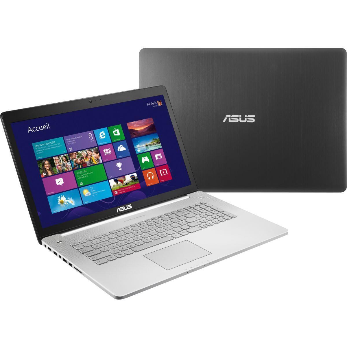 "Asus N750JV-T4048H 17,3"" Core i7-4700HQ 2,4 GHz  - SSD 256 Go + HDD 1.024 To - RAM 16 Go"
