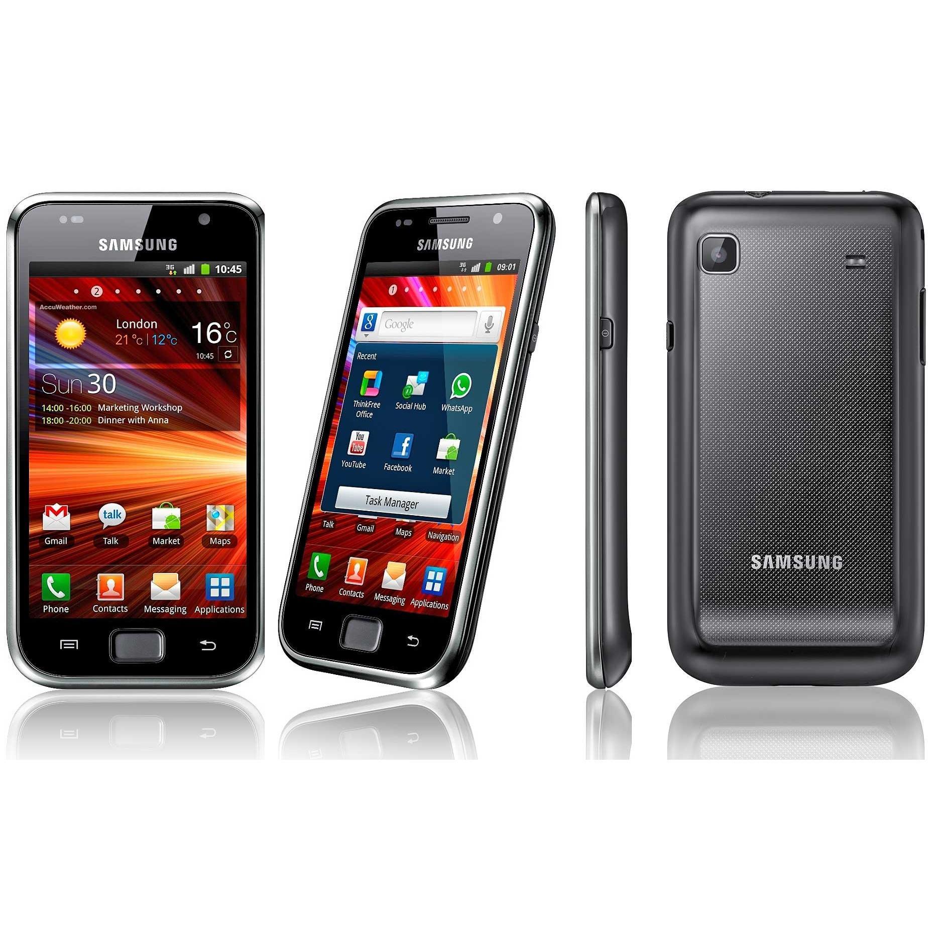Samsung Galaxy S Plus (GT-I9001) 8GB - Schwarz - Ohne Vertrag