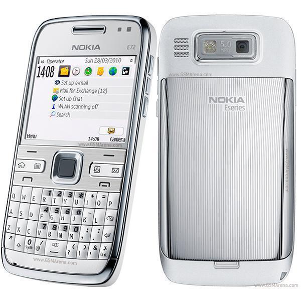 Nokia E72 - Grau - Ohne Vertrag