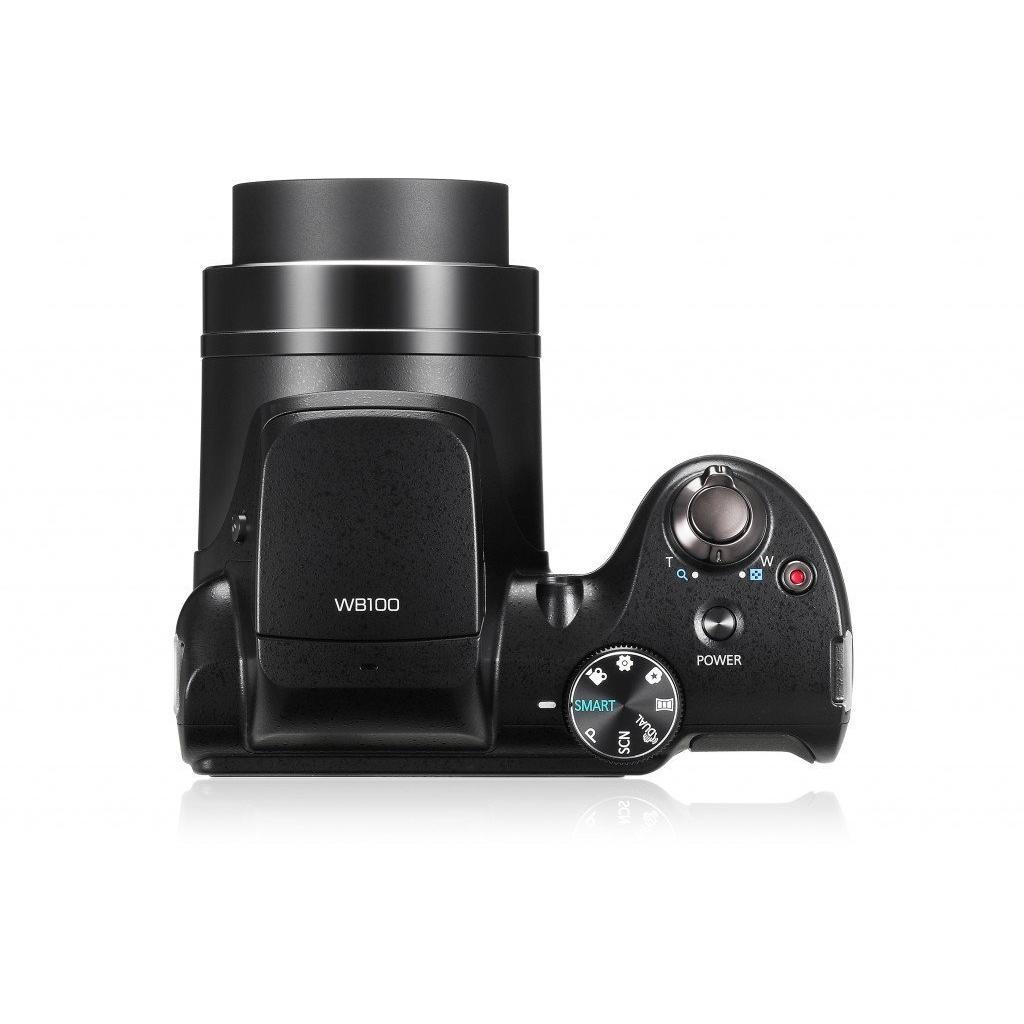 Kamera Kompakt - Samsung WB100 - Schwarz