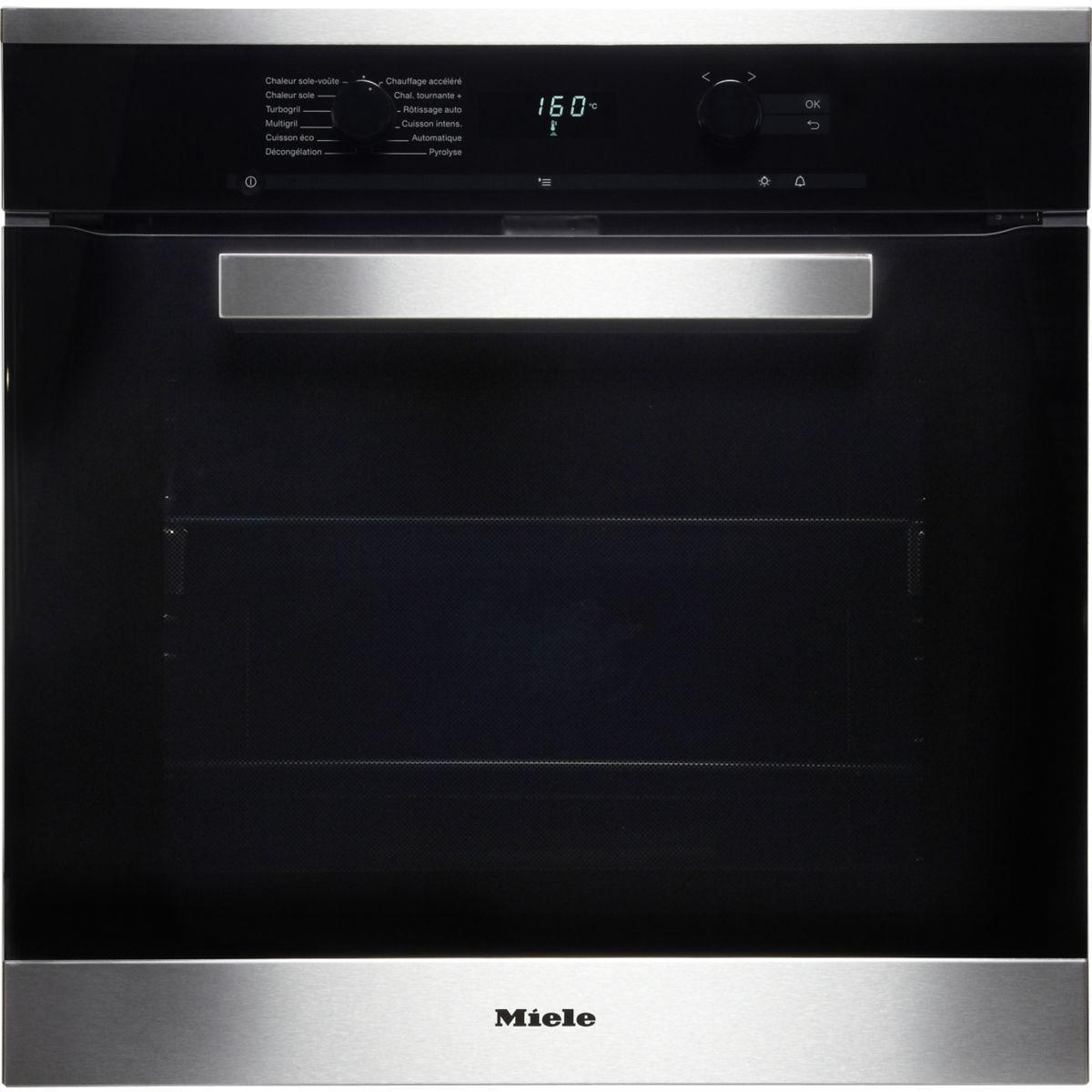 Four Multifonction Pyrolyse Miele H6265bp In Reconditionné Back Market