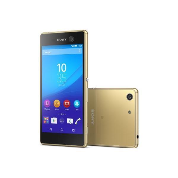 Sony Xperia M5 Dual 16 Go - Or - Débloqué