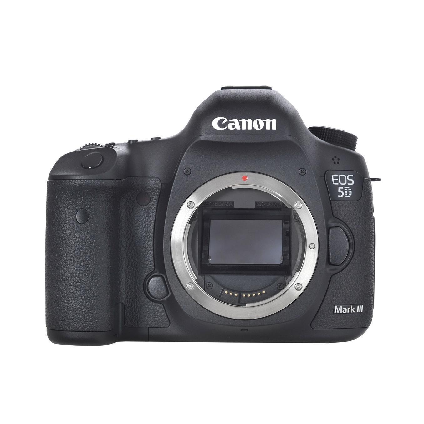 Canon EOS 5D Mark III - Sin objetivo