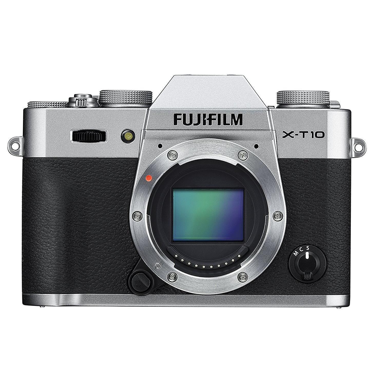 Fujifilm X-T10 Híbrido 16 - Prateado/Preto