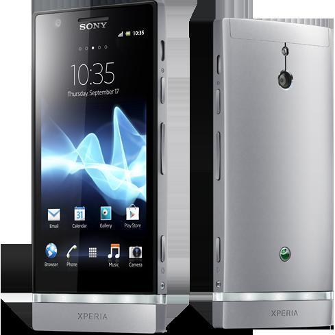 Sony Xperia P - Argent - Débloqué
