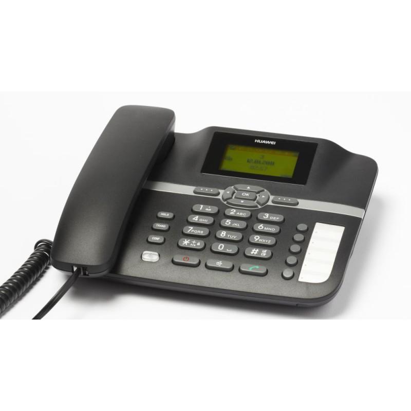 Teléfono Fijo Huawei Orange Gama 500 - Negro