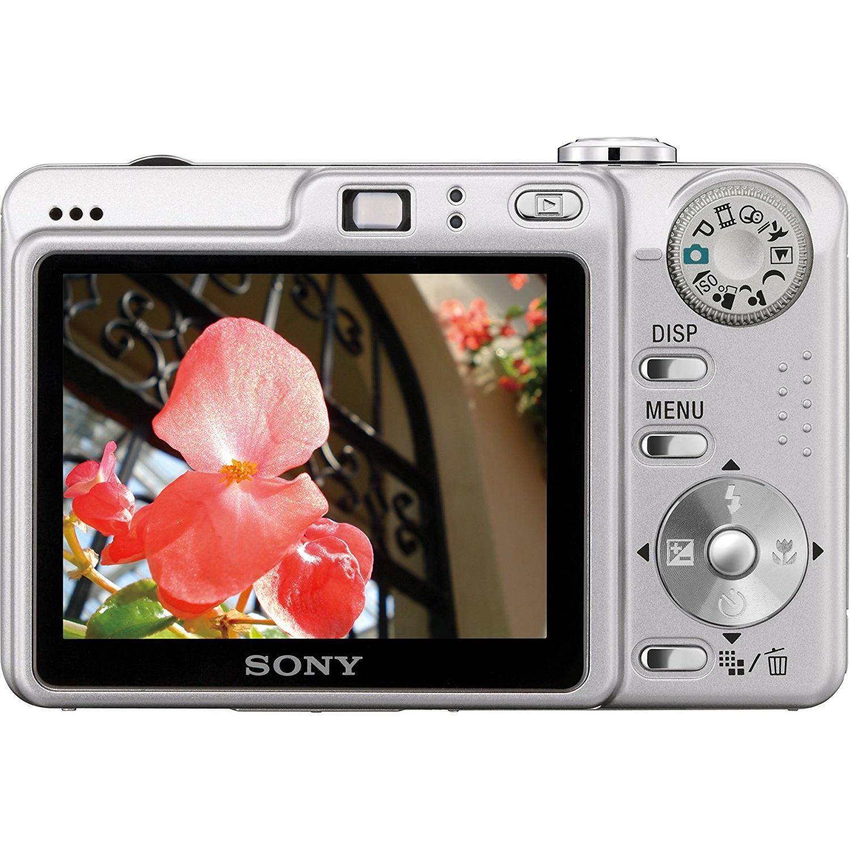 Compact - Sony CyberShot DSC-W55 Gris Sony Carl Zeiss Vario-Tessar 38-114 mm f/2.8-5.2