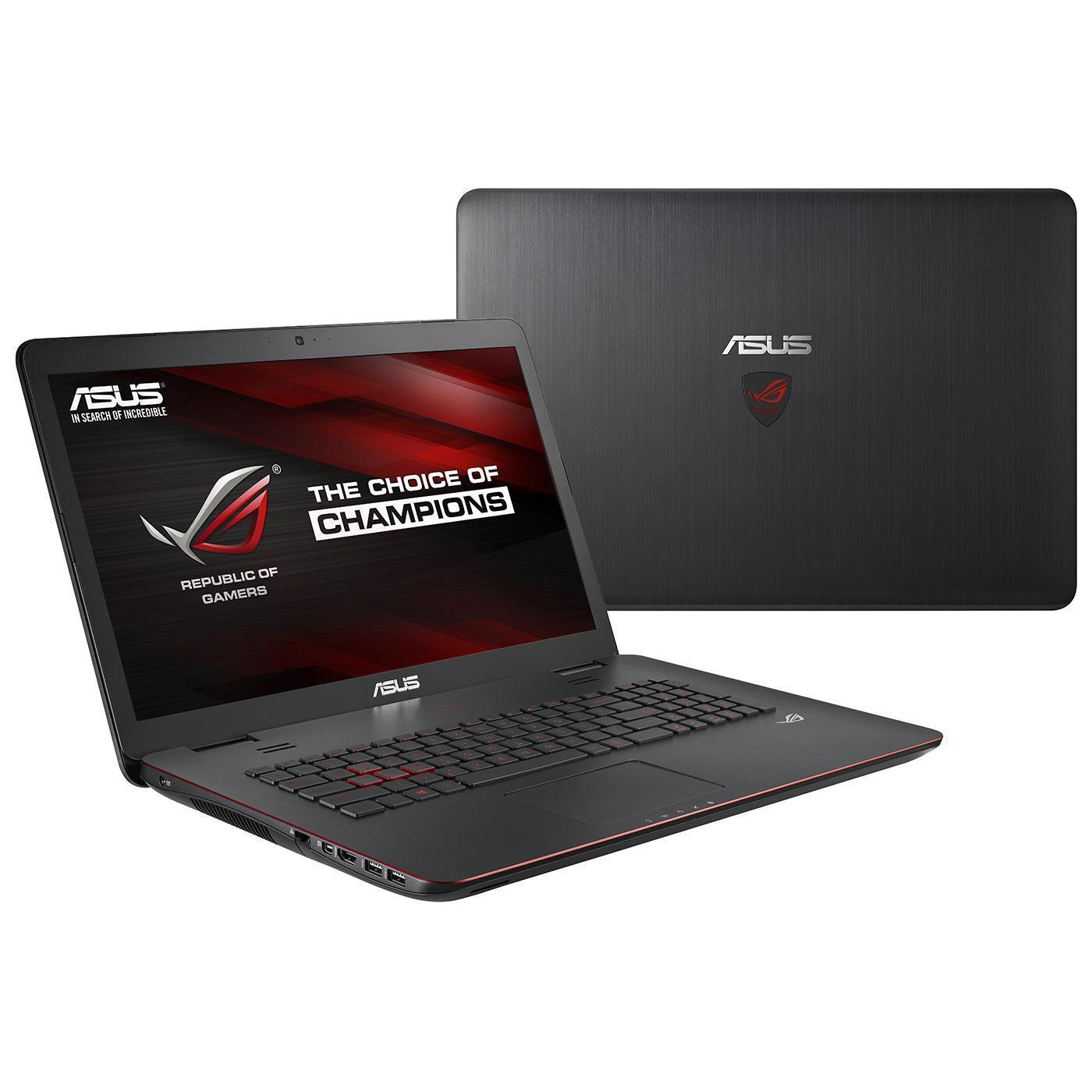 Asus ROG - Core i7-4710HQ 2,5 GHz -  1132 Go - RAM 8 Go - AZERTY