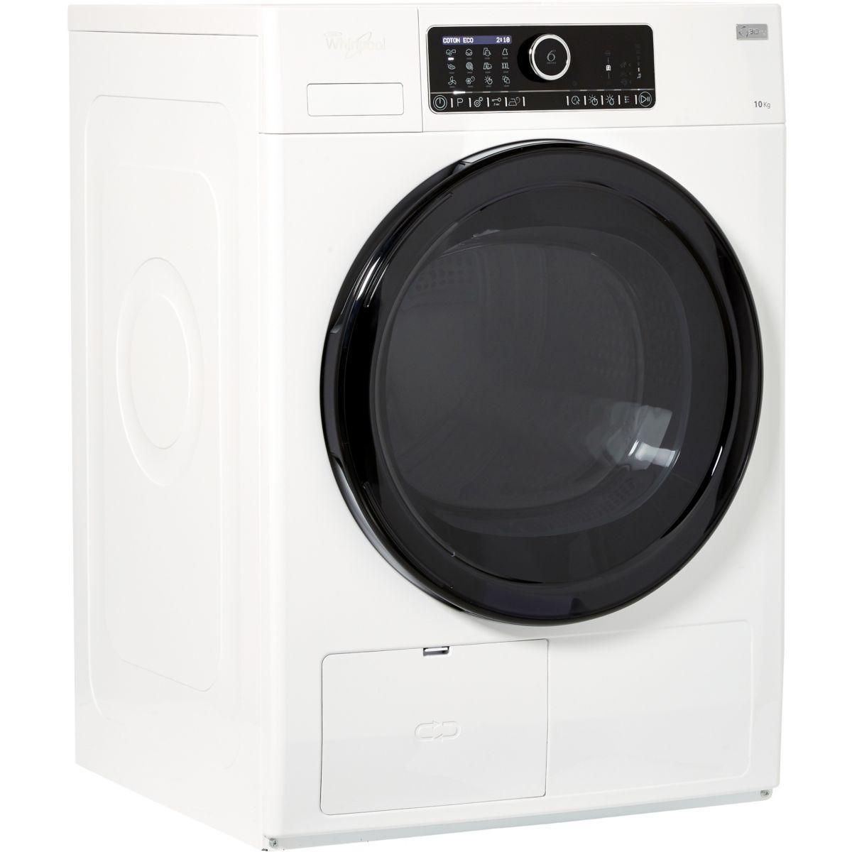 s che linge pompe chaleur frontal whirlpool hscx 10432 reconditionn back market. Black Bedroom Furniture Sets. Home Design Ideas