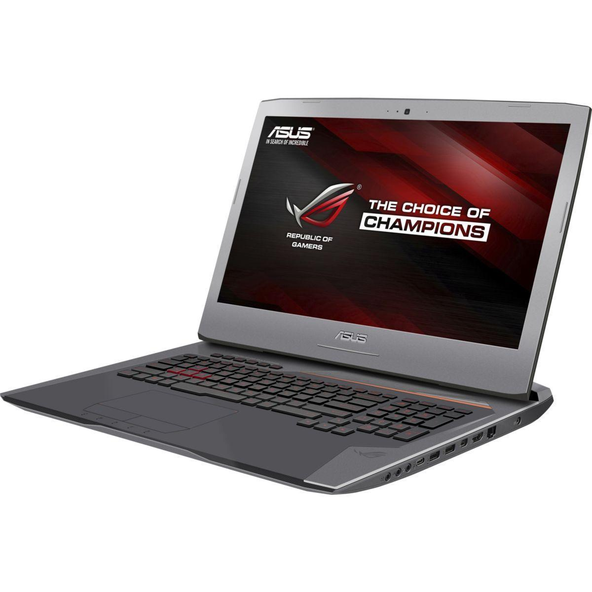 Asus ROG G752VS - Core i7-6700HQ 2,6 GHz - HDD + SSD 1280 Go - RAM 16 Go - AZERTY