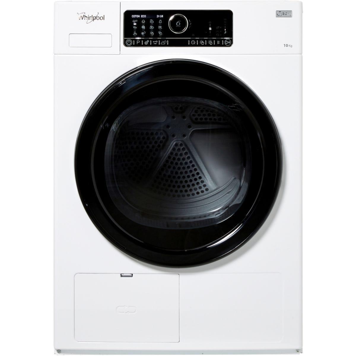 Sèche-linge pompe à chaleur frontal WHIRLPOOL HSCX 10432