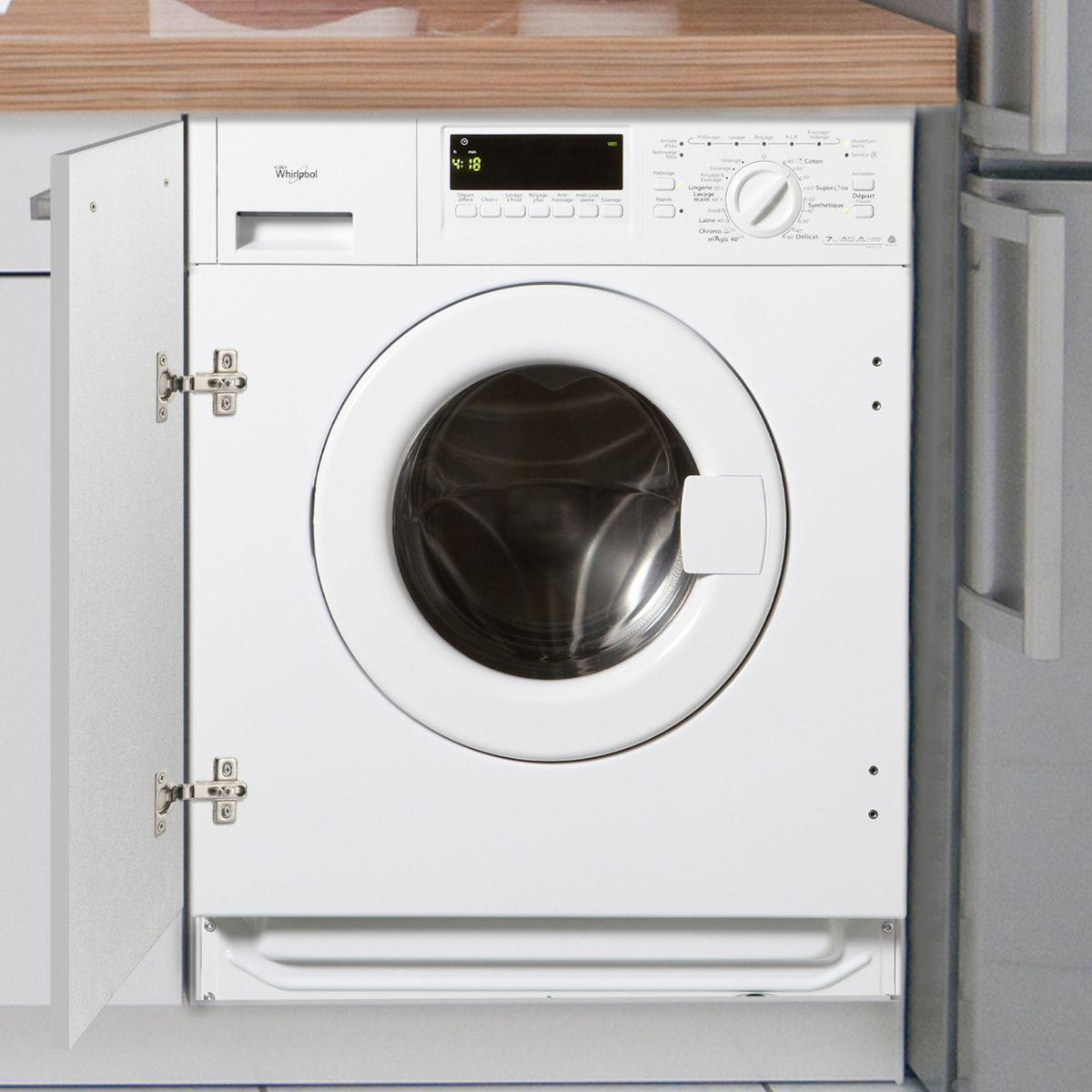 Lave-linge frontal intégrable WHIRLPOOL AWO D 070