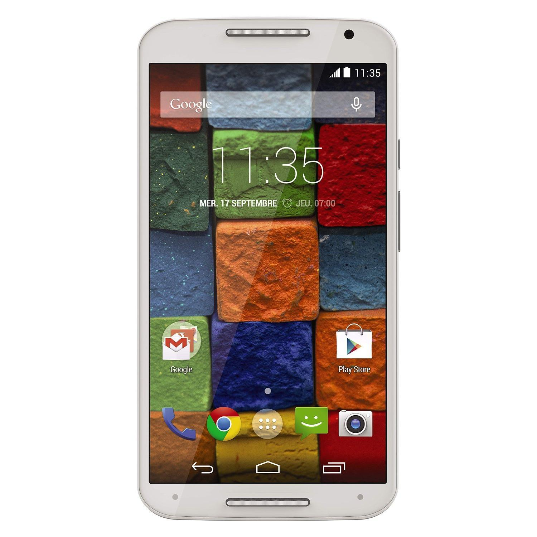 Motorola Moto X (2ème Génération) 16 Go Blanc - Débloqué