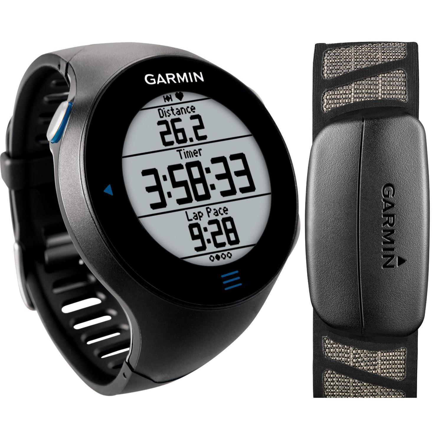 Reloj Garmin Forerunner 610 GPS tactil HRM - Negro