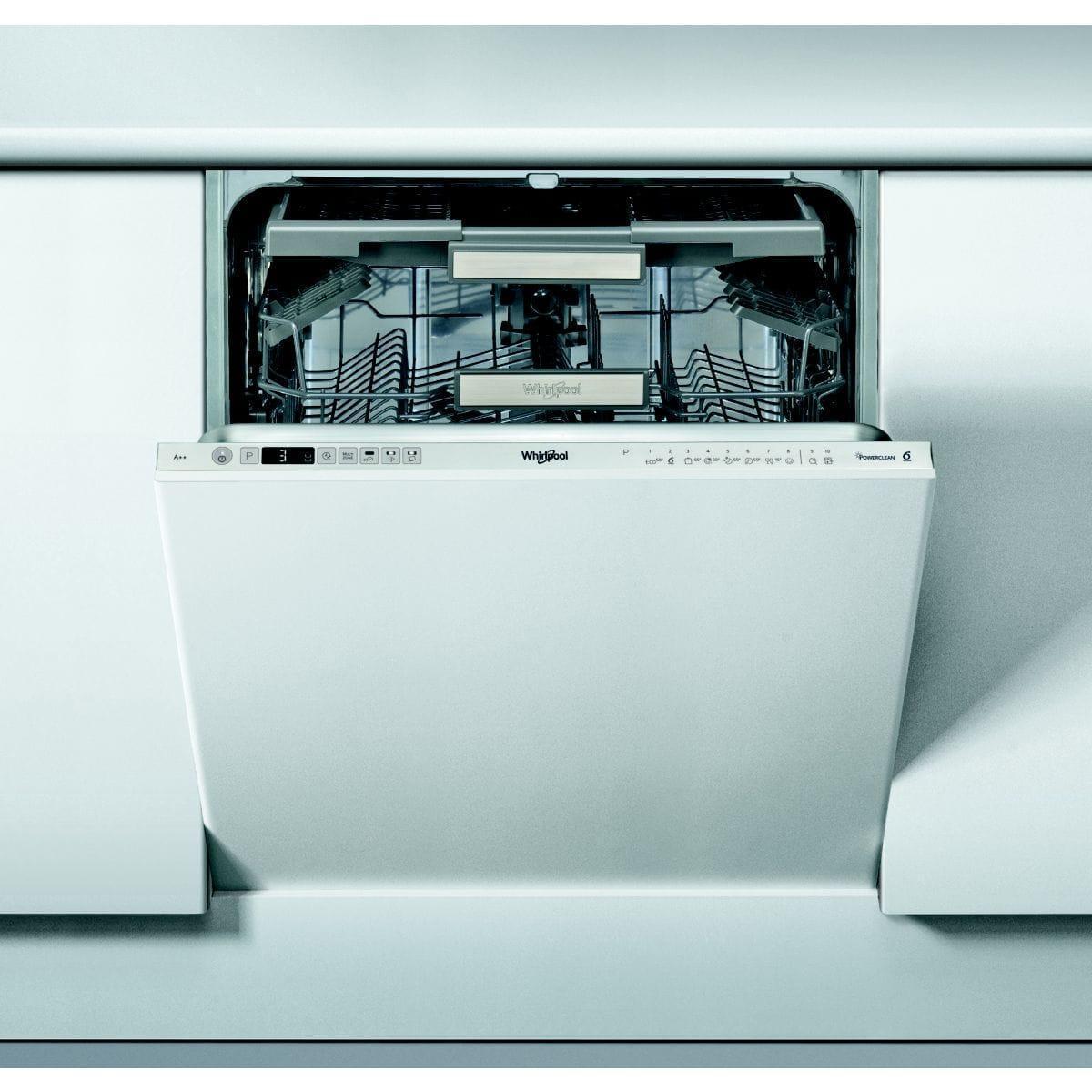lave vaisselle encastrable 60 cm whirlpool wio3t123pef. Black Bedroom Furniture Sets. Home Design Ideas