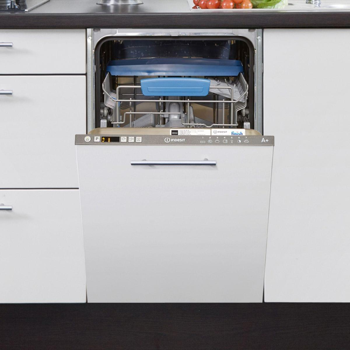 lave vaisselle encastrable 45 cm indesit disr57m19ca eu. Black Bedroom Furniture Sets. Home Design Ideas
