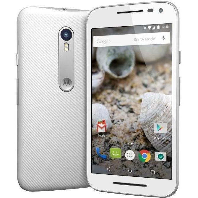 Motorola Moto G 3. Generation - Blanc - 16 Go - Débloqué