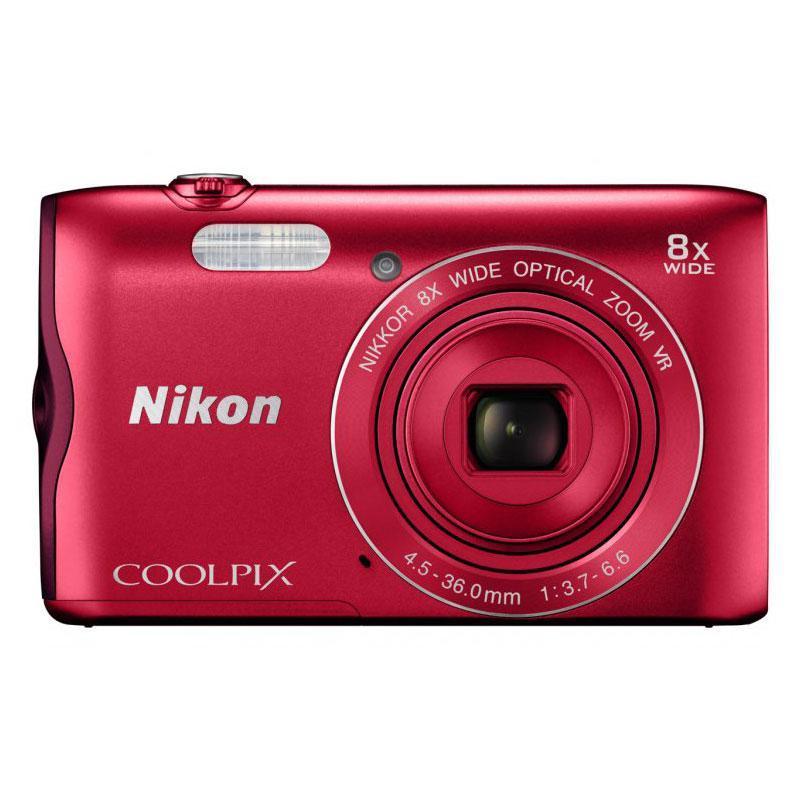 Compacta - Nikon A300 - Rojo