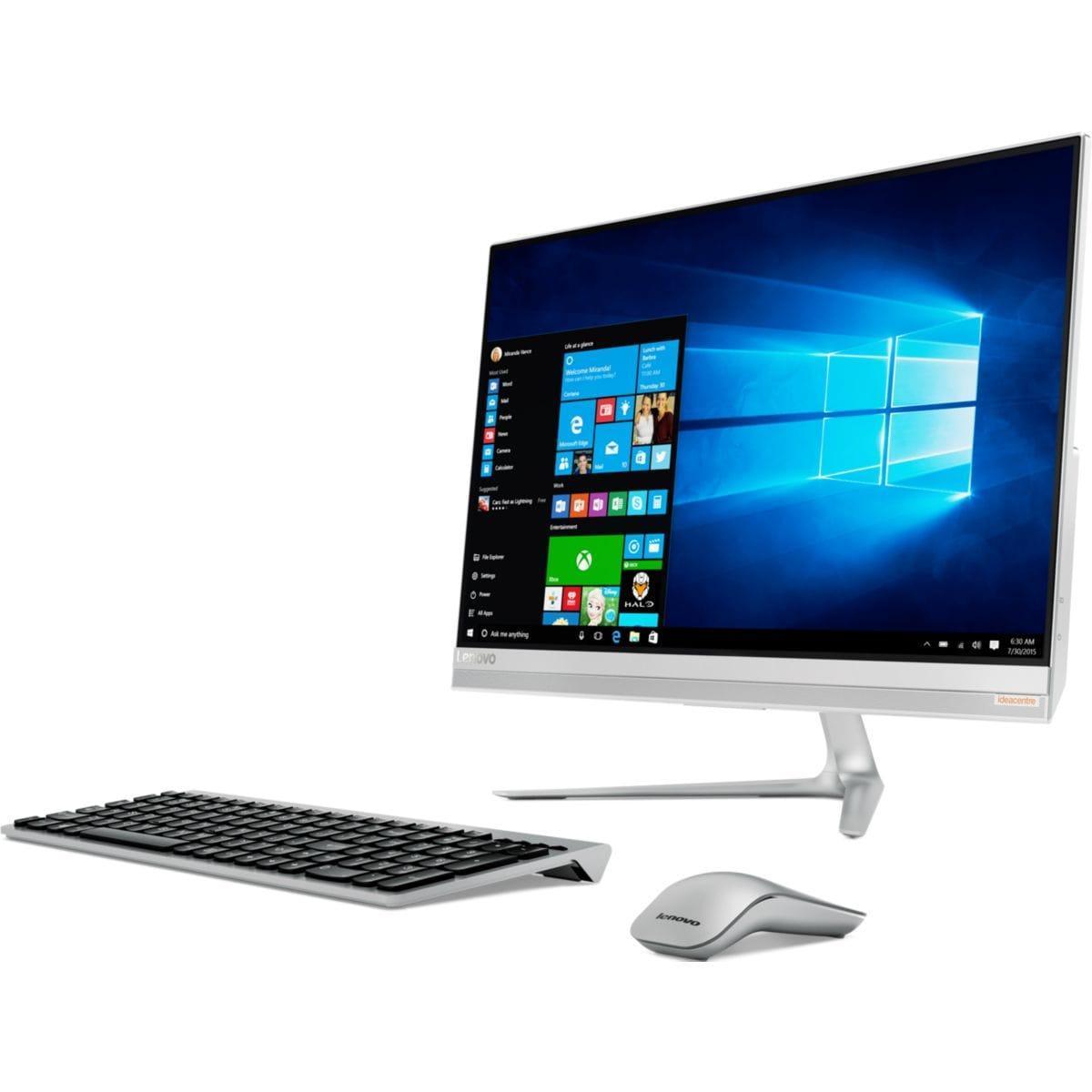 """Lenovo IdeaCentre AIO 510s 23"""" Core i3-6100 3,7 GHz  - HDD 1.024 To - RAM 4 Go"""