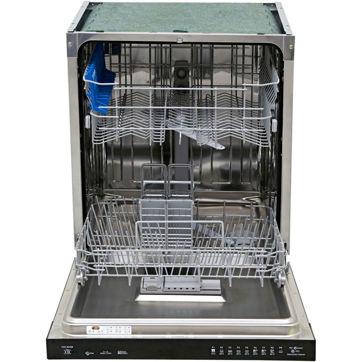 lave vaisselle encastrable 60 cm candy cds2d35b 13. Black Bedroom Furniture Sets. Home Design Ideas