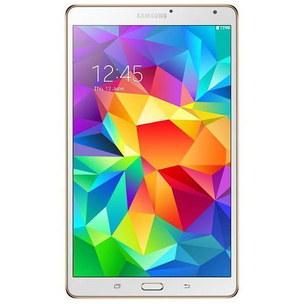 """Samsung Galaxy Tab S - 8.4"""" 16 Go - 4G - Blanc"""