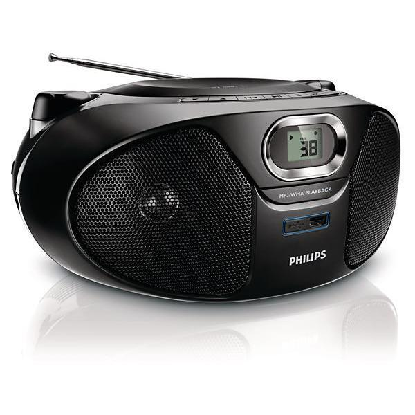 poste radio cd usb philips az385 12 reconditionn back market. Black Bedroom Furniture Sets. Home Design Ideas