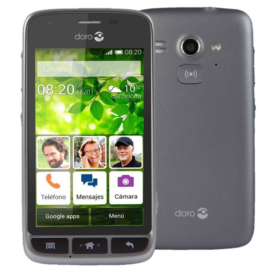 Doro Liberto 820 Mini 4 GB - Gris - Libre