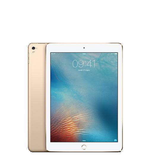 """iPad Pro 9,7"""" 128 Go - 4G - Or - Débloqué"""