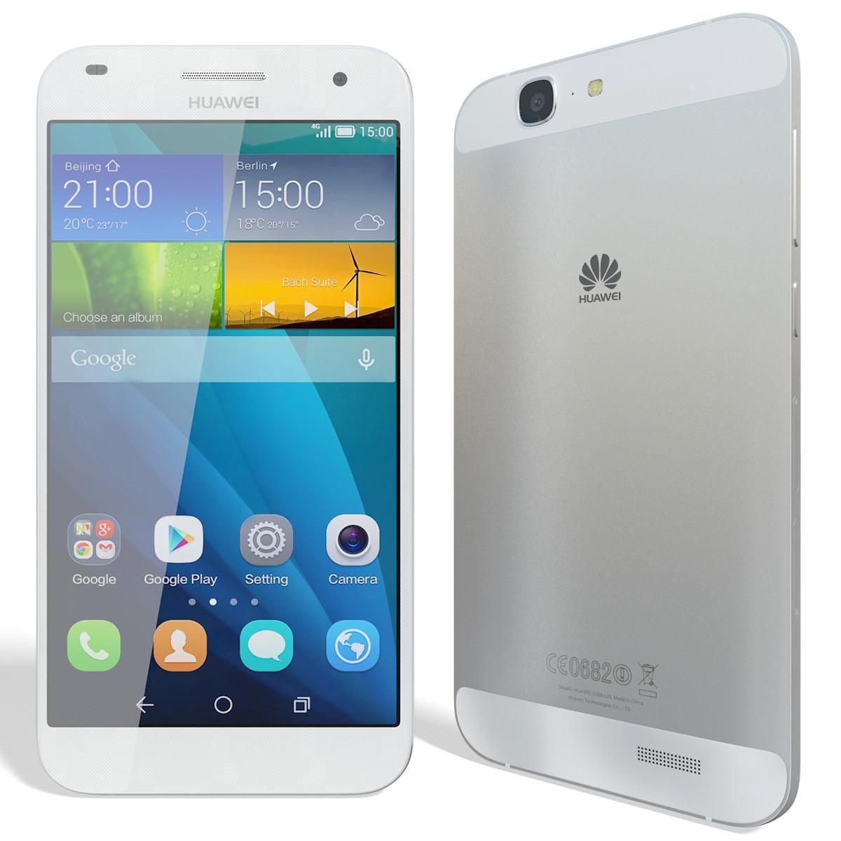 Huawei Ascend G7 16GB - 4G - Plata - Libre