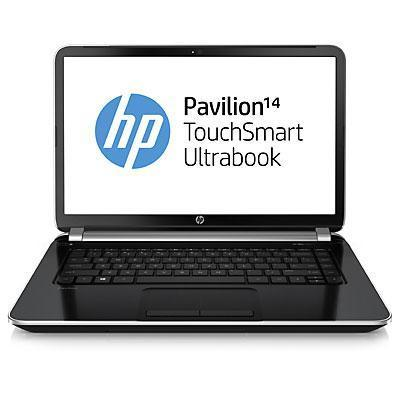 "HP Pavilion TouchSmart 14-n050sf 14"" Core i3 1,8 GHz - HDD 750 GB - RAM 4 GB - AZERTY"