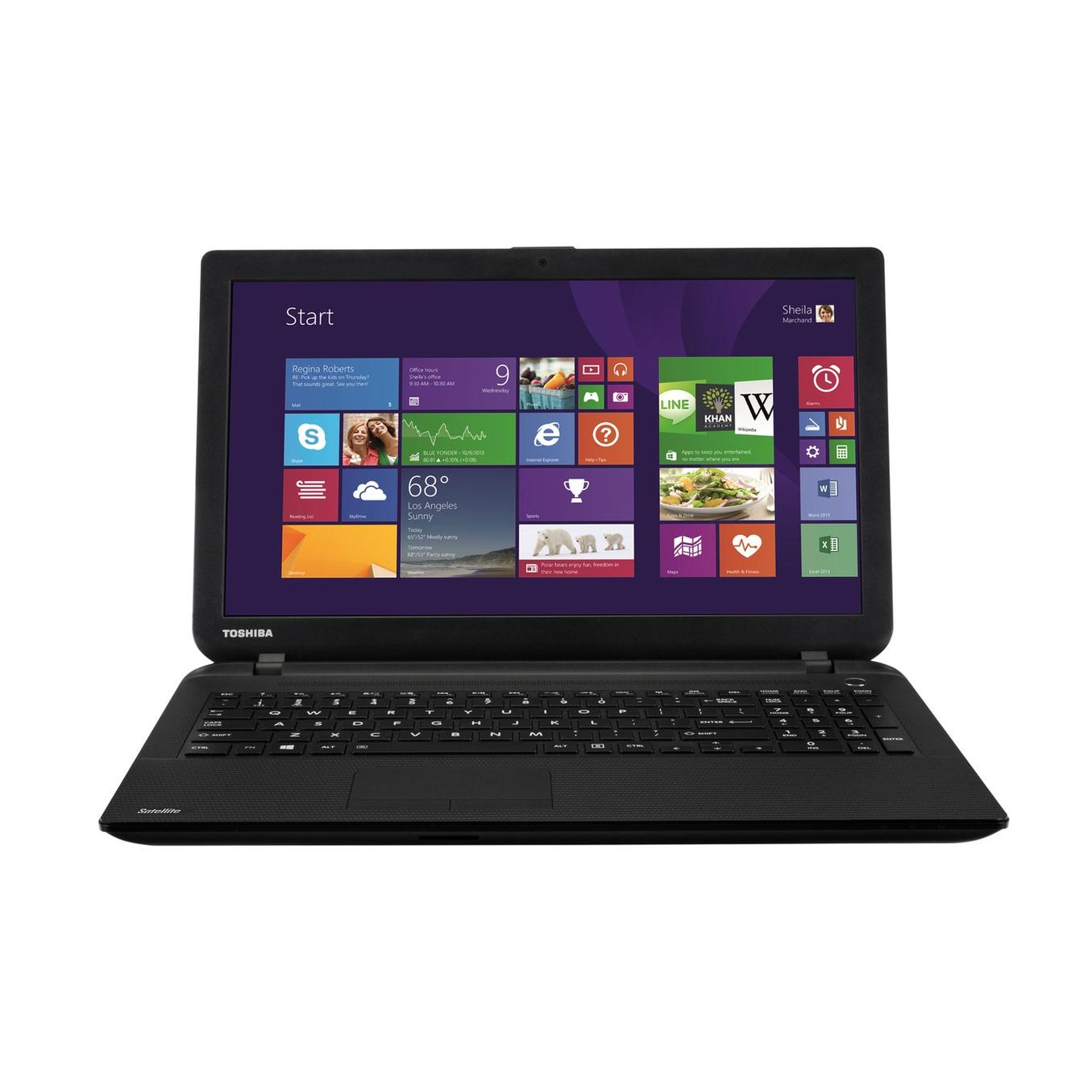 "Toshiba Satellite C50-B-19C 15,6"" Core i3 1,7 GHz - HDD 1 TB - RAM 4 GB - AZERTY"
