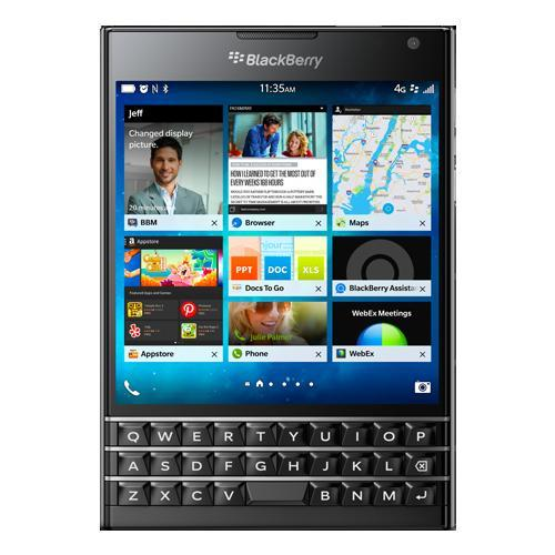 BlackBerry Passport 32 Go - Noir - QWERTY